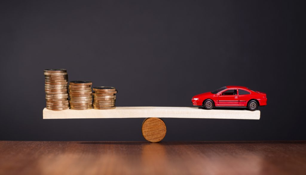 Car finance - balancing act
